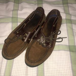 SPERRYS dark leather